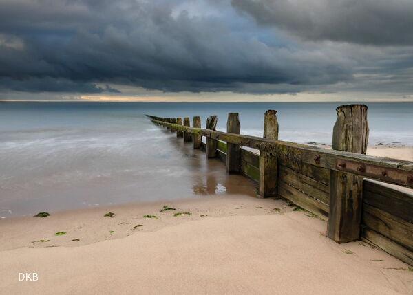 Storm on the horizon - Dawlish Warren