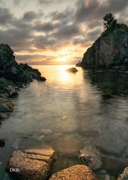 Burst of Light - Babbacombe Bay, Torquay