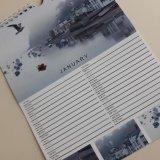 Calendar page layout - January