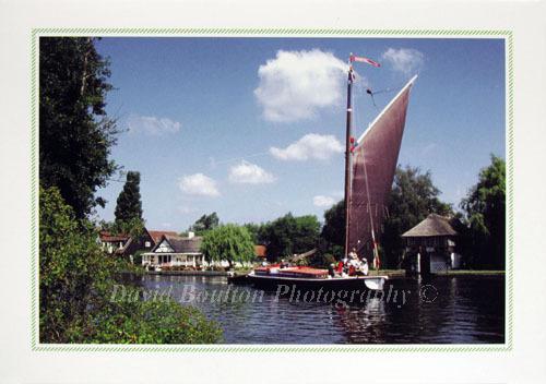 Wherry, River Bure, Horning, Norfolk Broads