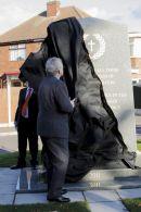 Unvailing Aston War Memorial Nov 2011