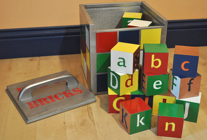 Box of Bricks abc