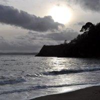 Melancholic coast Devon