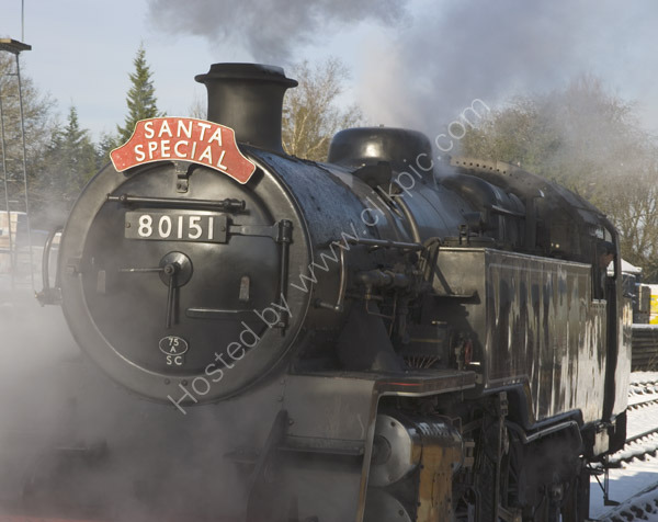 Santa Express on the Bluebell Railway