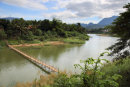 Luang Prabang river bridge