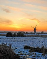 Winter Sunset at Thurne