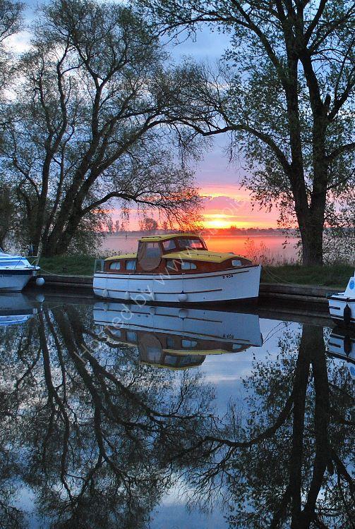 Dawn at Fleet Dyke