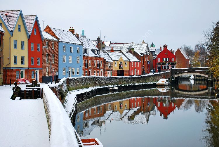 Quayside in Winter