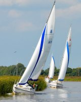 Sailing on River Bure