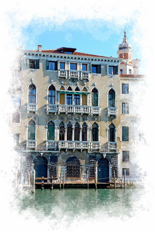 11 Pallazzo Michiel, Grand Canal, Venice