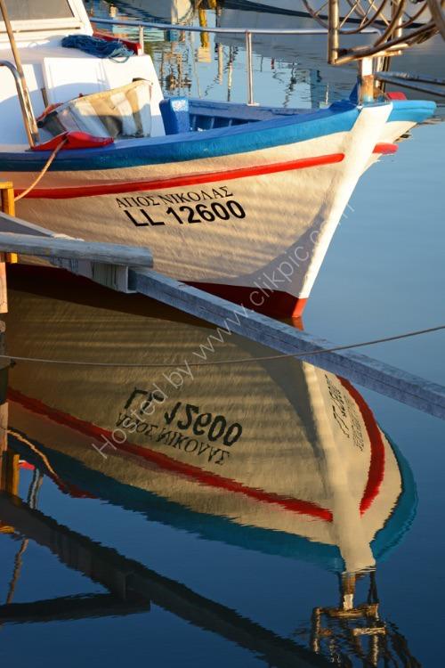 Fishing Boat at Potamos