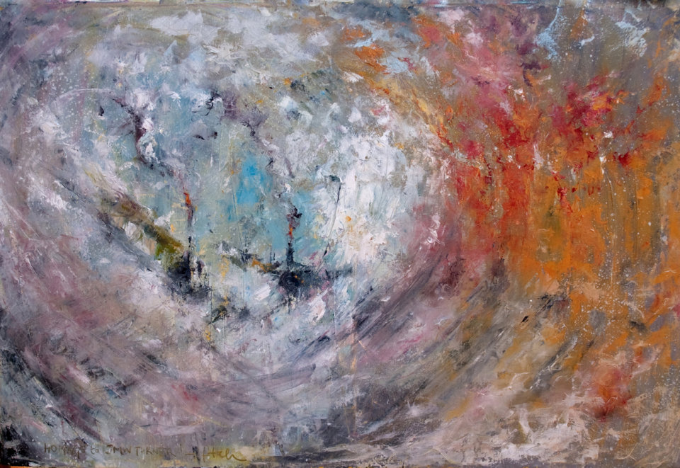 Homage to JMW Turner (sold)
