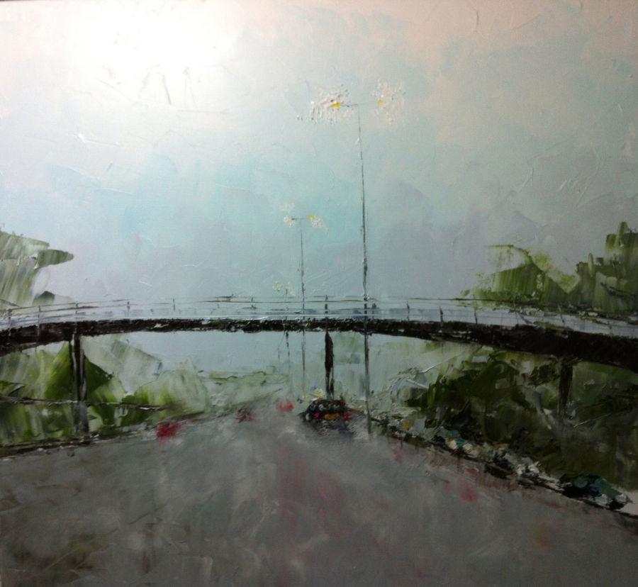 Rain on the M25
