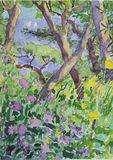 Marmari Paxos  2014 (4)  24x35cm watercolour