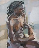 1992 'Life Study 3' oil on canvas
