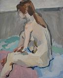 1992' Life Study 2'oil on canvas