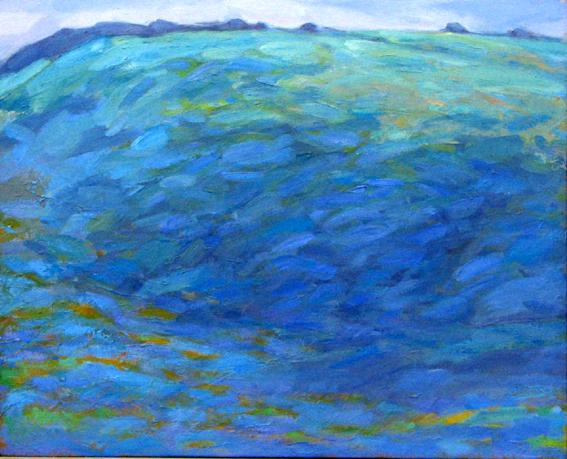 1994 'Ridgeway' oil on canvas