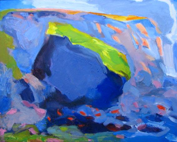 1994 'Sea Cliff.oil on canvas