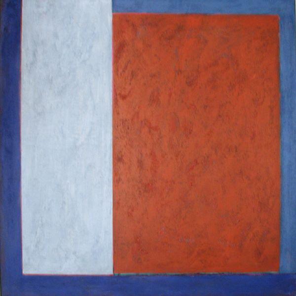'Open End' 90x90cm Acrylic on Canvas 2006