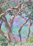Marmari Paxos 2012 (1)24x35cm watercolour