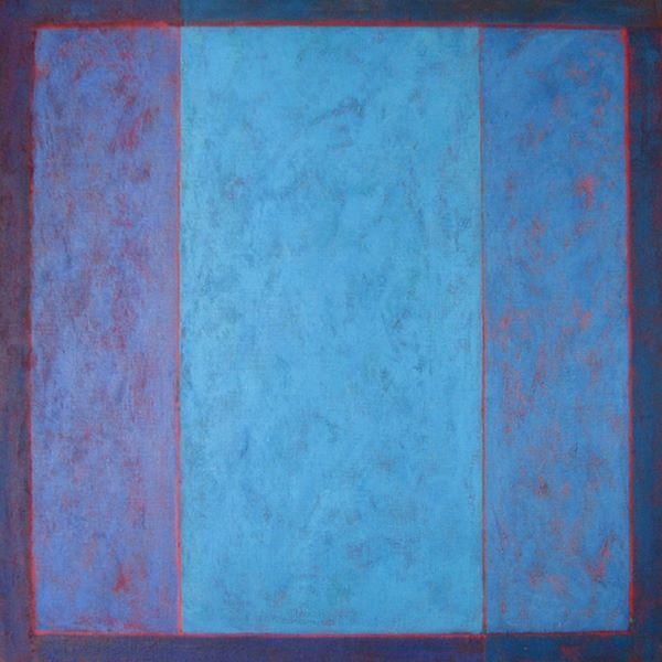 . 'Blue View' 90x90cm Acrylic on Canvas 2006