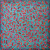 'Beans 2' 45x45cm acylic on canvas 2007