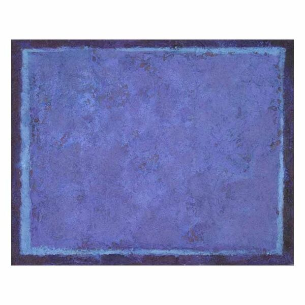 Blue Screen 1. 30x24cm acrylic on board 2019