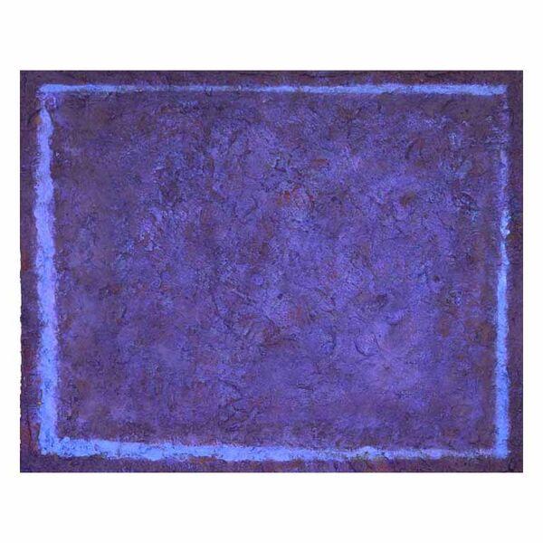 Blue Screen 2. 30x24cm acrylic on board 2019