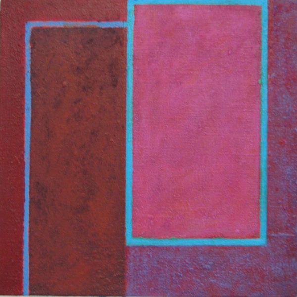 'Frame 2' 30x30cm Acrylic on canvas 2006
