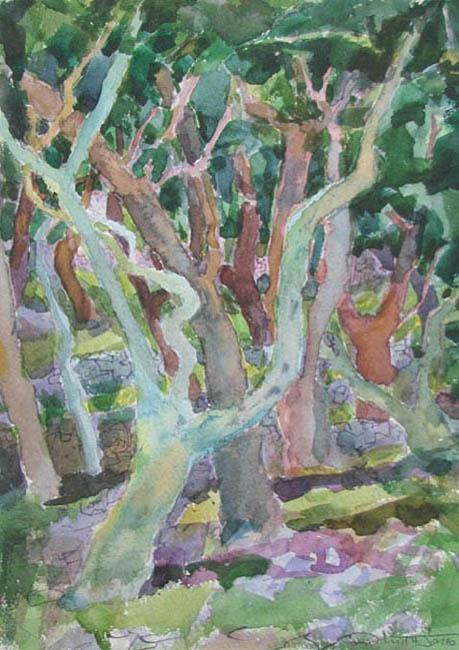 Marmari  Paxos  2011 (30)  24x35cm watercolour