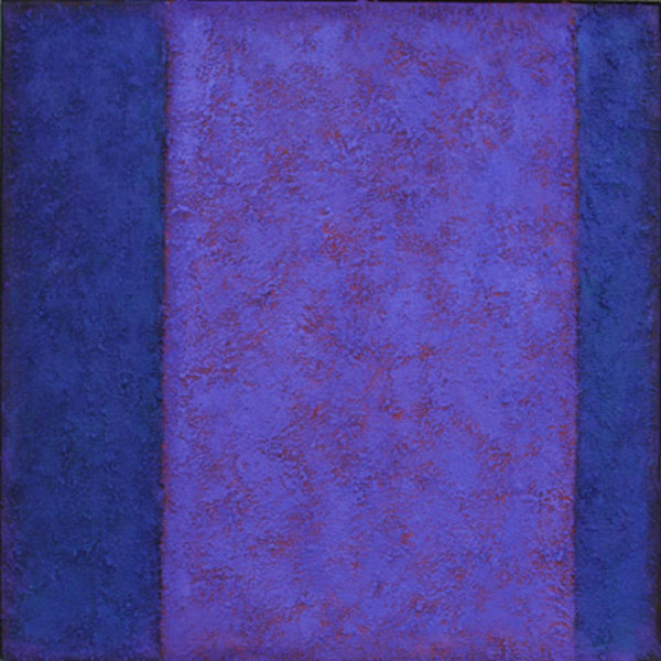 'Red Violet Between BlueViolet' 60x60cm Acrylic on canvas 2006