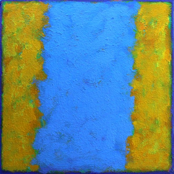 'Tilt 3' 30x30cm acrylic on board 2017(private collection)