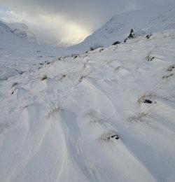 Glencoe in a snow storm