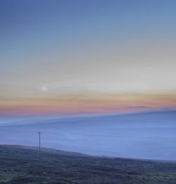 Greenhow Hill in Summer Twilight