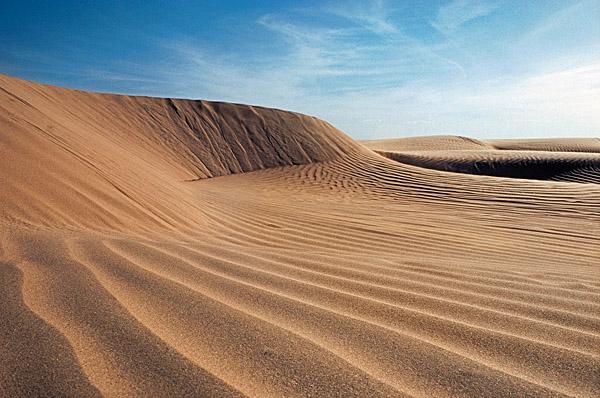 Barchan dunes northern Kenya