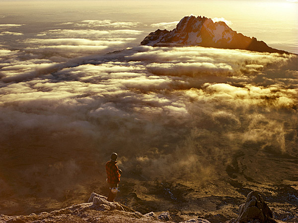 Dawn from Kilimanjaro