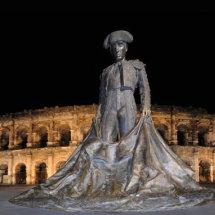 Matador statue Nimes