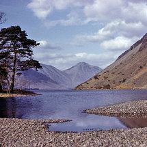 Great Gable and Wastwater, England