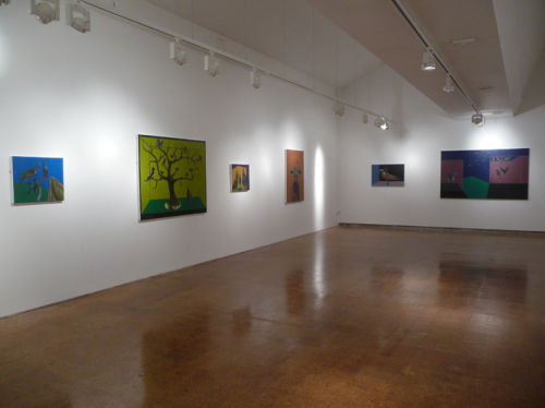 Installation view of work at Derby Museum & Art Gallery exhibition: Where I End And You Begin, Until 28 October 2012