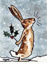 """""""Christmas Bunny"""""""