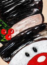 """Festive Snowman"""