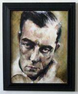 """""""Buster Keaton"""" #1 (Framed)"""