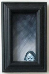 """ Mary At The Window "" ( Framed )"