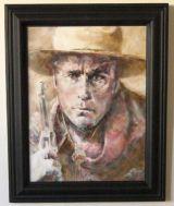 """""""The Silent Man"""" Framed"""