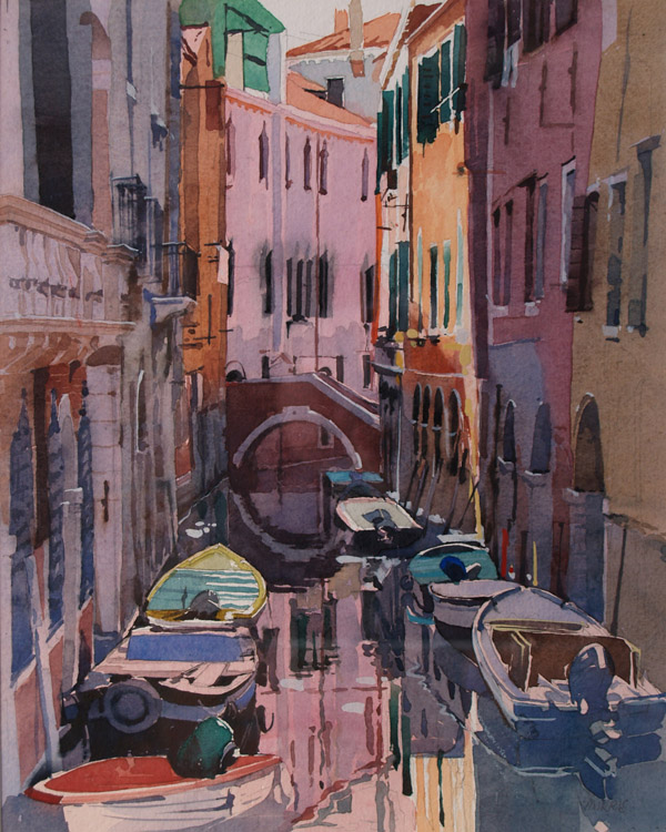 Canalside Venice 2