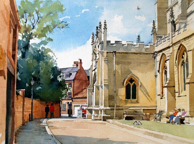 Church Cobbles, Louth