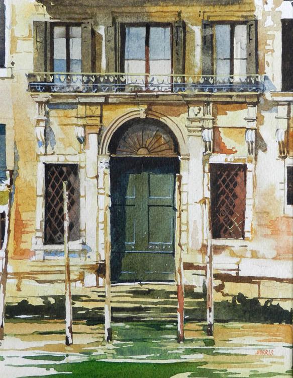 Doorway with Balcony - Venice