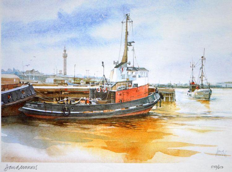 Tugs in Grimsby Dock