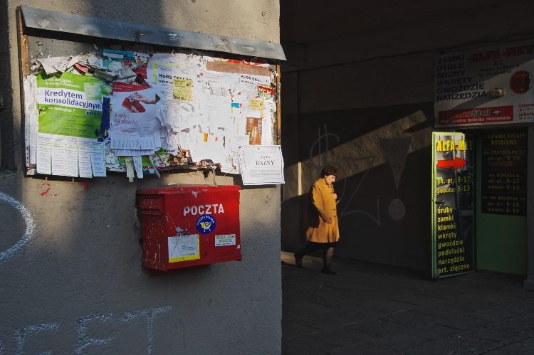 Arcade in Nowa Huta ( Polish town given by Stalin)