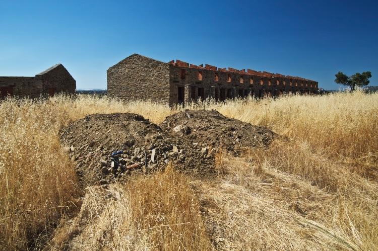 Brick Rubble Almeria Spain